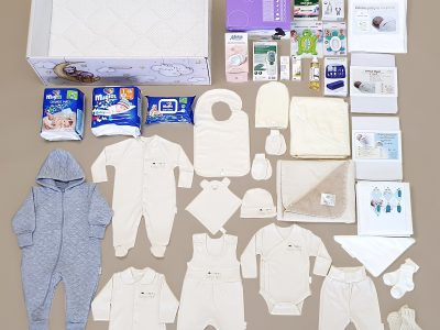 Baby's Nest with Organic Cotton