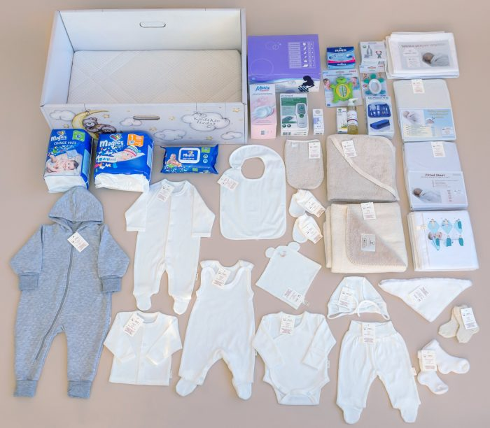 Baby's Nest with Natural cotton collection